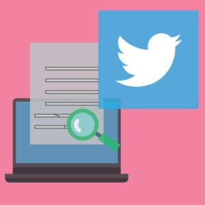 gestione account twitter