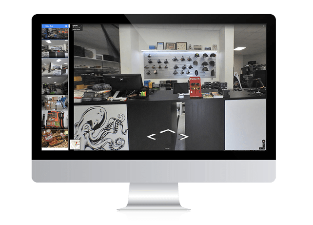 Google Virtual Tour – Kraken Store